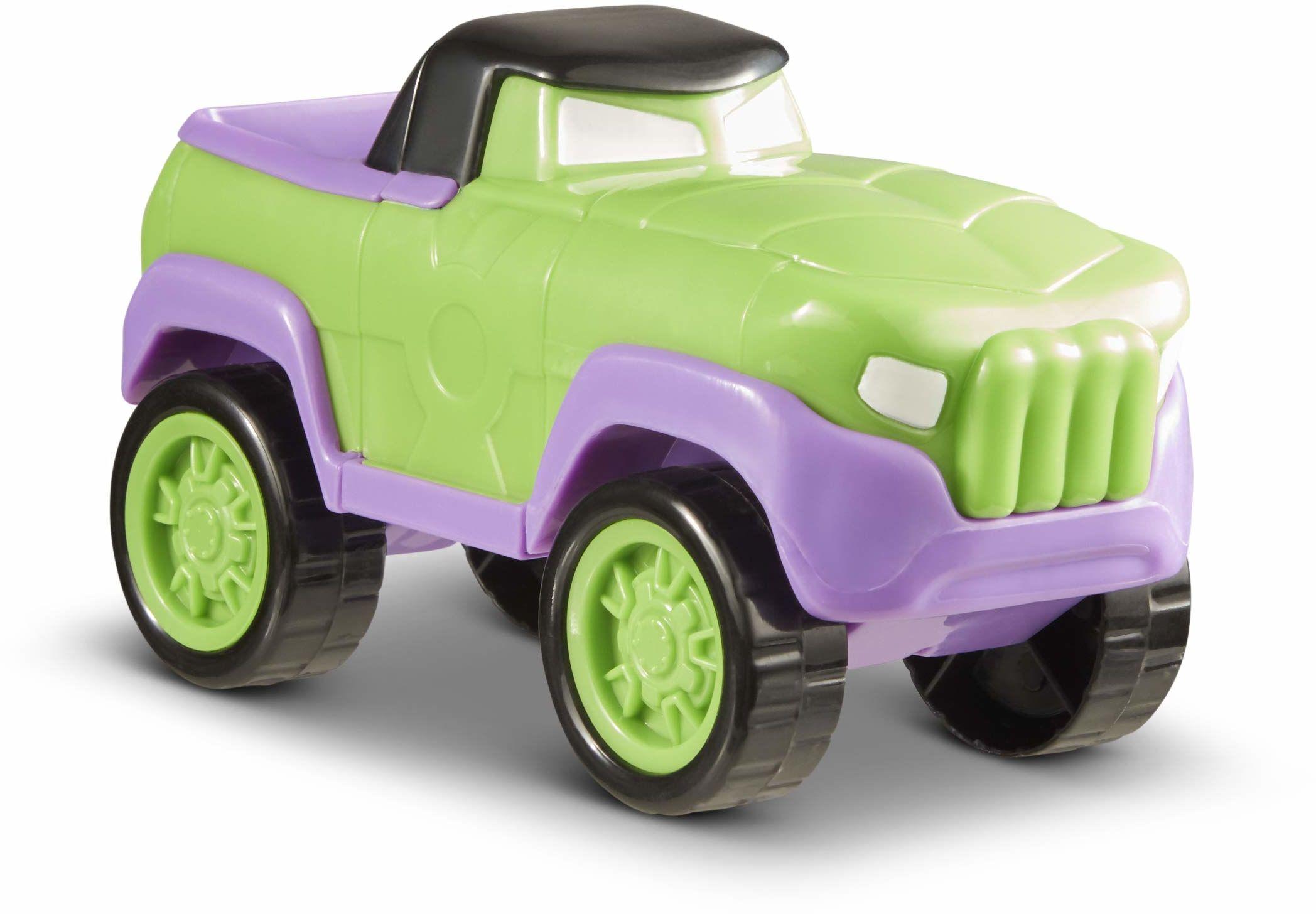 Marvel by Funrise 60458 Marvel Mod Squad Hulk samochodziki zabawkowe, wielokolorowe