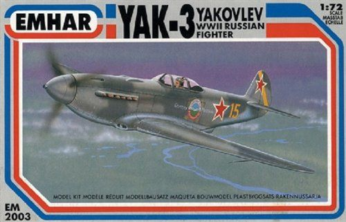 Emhar Models Yakovlev Yak-3 zestaw do budowy modelu samolotu