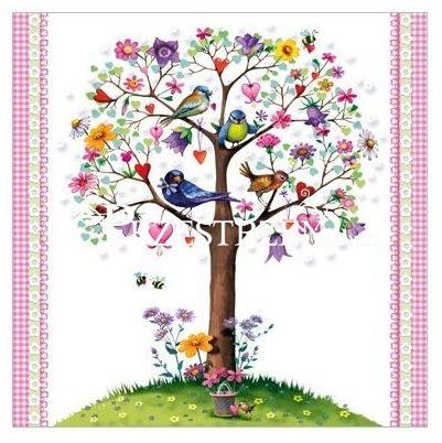 SERWETKI PAPIEROWE - Love Tree - Drzewo Miłości