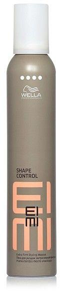 Wella Professionals Eimi Shape Control pianka do włosów utrwalająca do utrwalenia kształtu level 4 500 ml