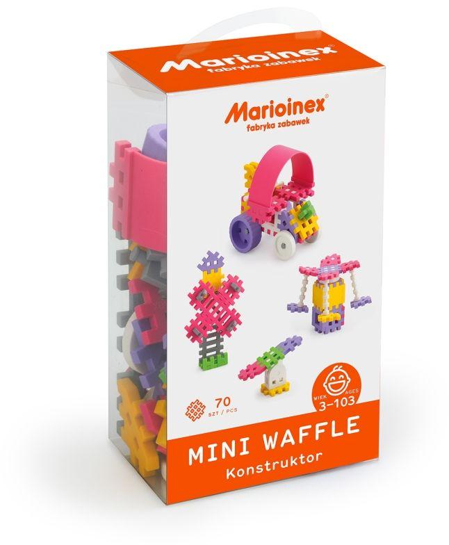 Klocki ''mini waffle'' Konstruktor dziewczęcy 70el. (5903033902813)