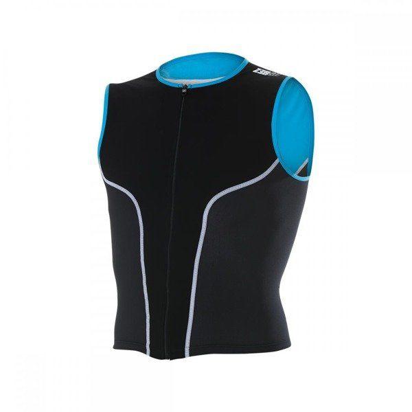 ZEROD Koszulka triathlonowa iSinglet Męska Błękitna