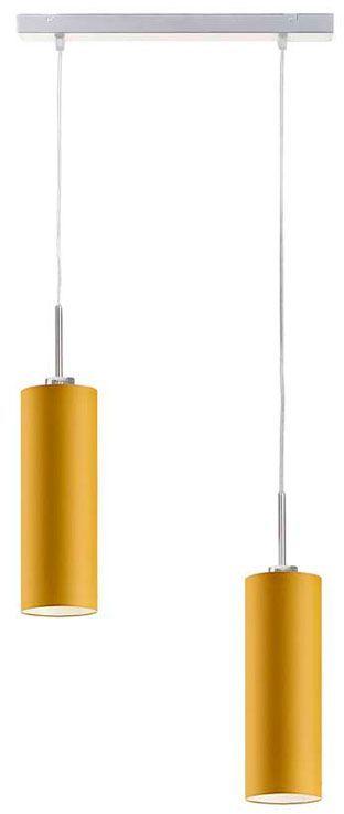 Podwójna lampa wisząca ze stalowym stelażem - EX368-Maderix - 18 kolorów