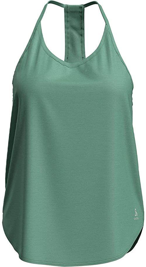 Odlo Damska koszulka czołgowa Ethel damska koszulka pod pachami turkusowy miętowy krem XS