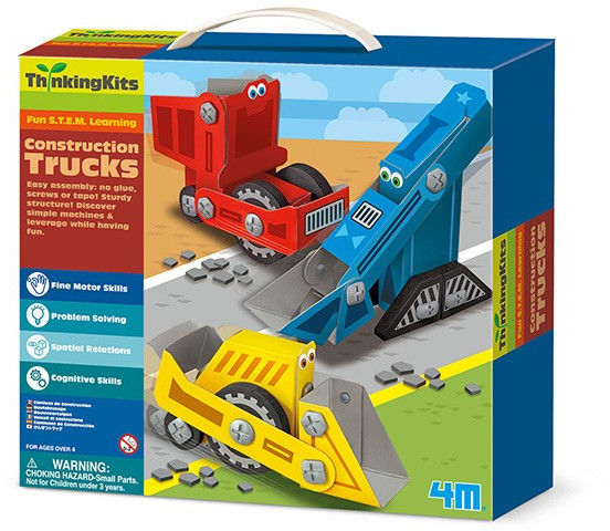 Zestaw kreatywny Ciężarówki