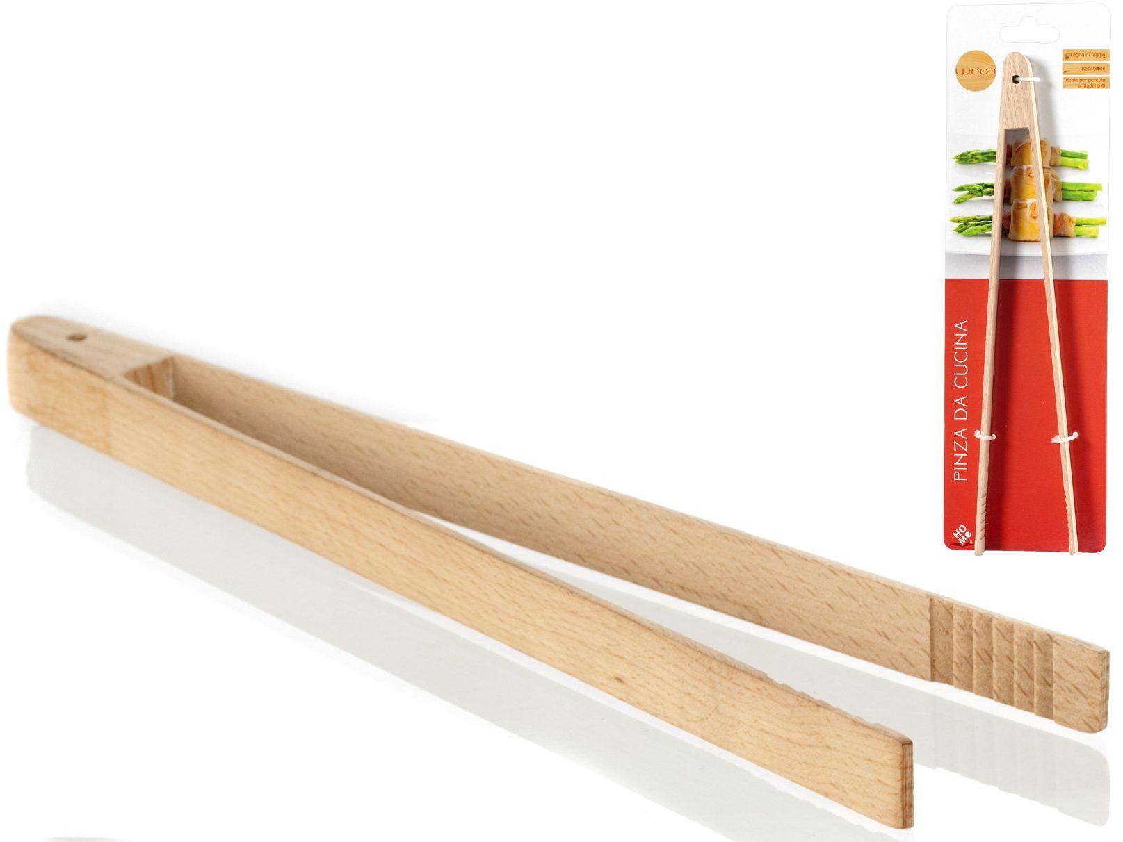 HOME 8342500 szczypce drewniane, buk, 6 sztuk