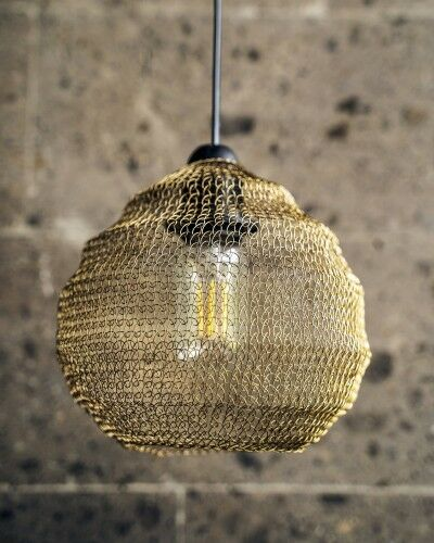 Metalowa lampa Cala