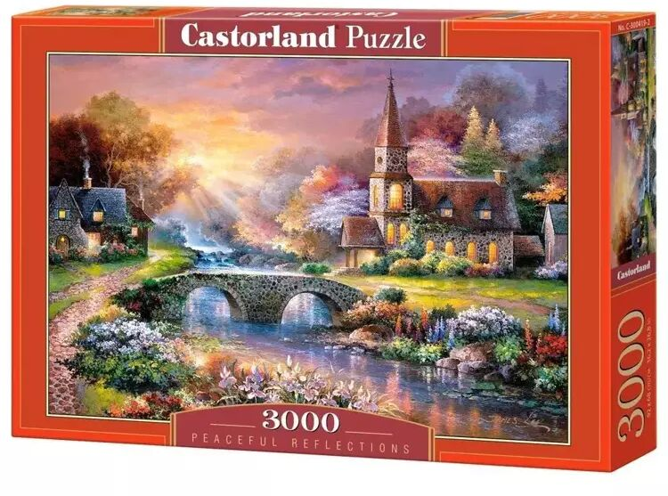 Puzzle 3000 Spokojne refleksje CASTOR - Castorland