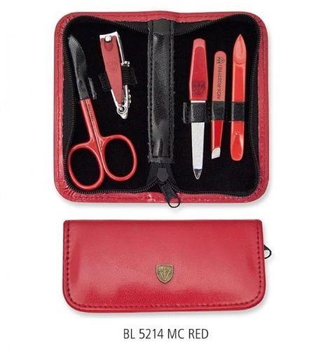 Mini zestaw do paznokci - 5 części BL 5214 MC RED