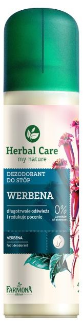 Herbal Care WERBENA dezodorant do stóp 8w1 150ml