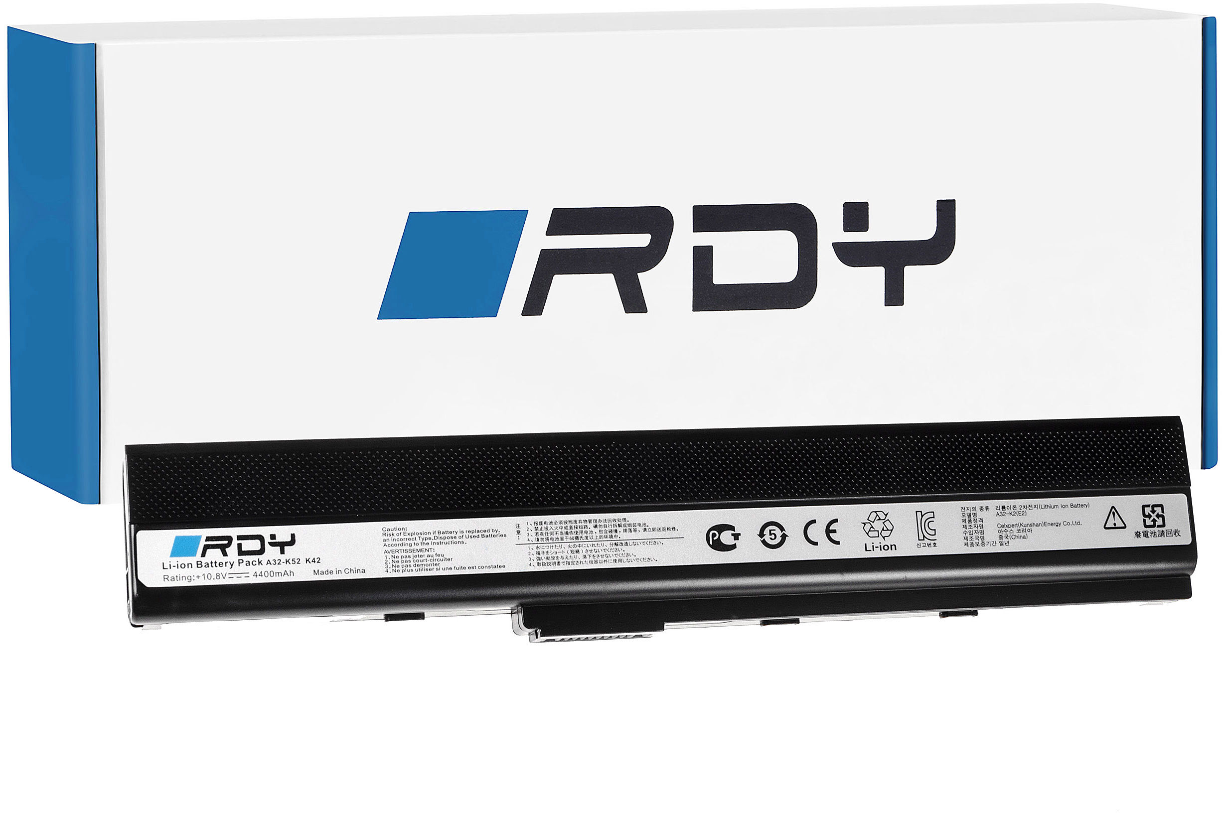 Bateria RDY A32-K52 A32-K42 do Asus K52 K52J K52F A52 A52F X52J X52 K52JC K52N