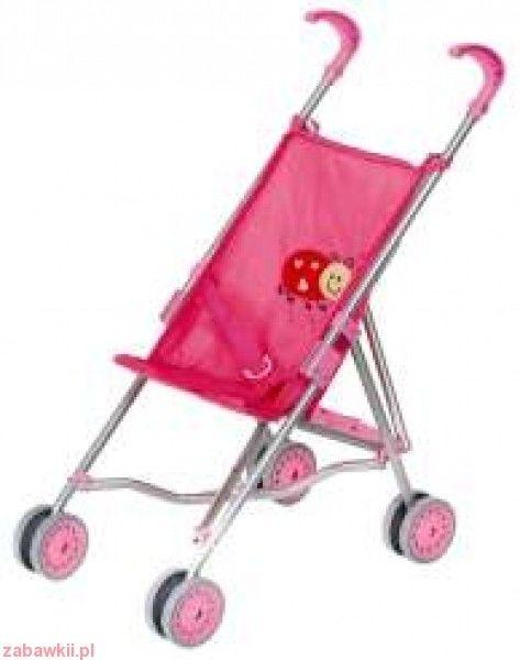 Wózek dla lalek spacerówka parasolka