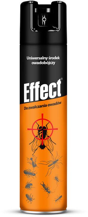 400 ml Środek owadobójczy, spray na owady Effect.
