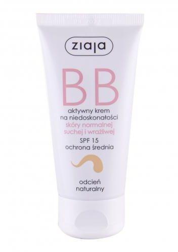 Ziaja BB Cream Normal and Dry Skin SPF15 krem bb 50 ml dla kobiet Natural
