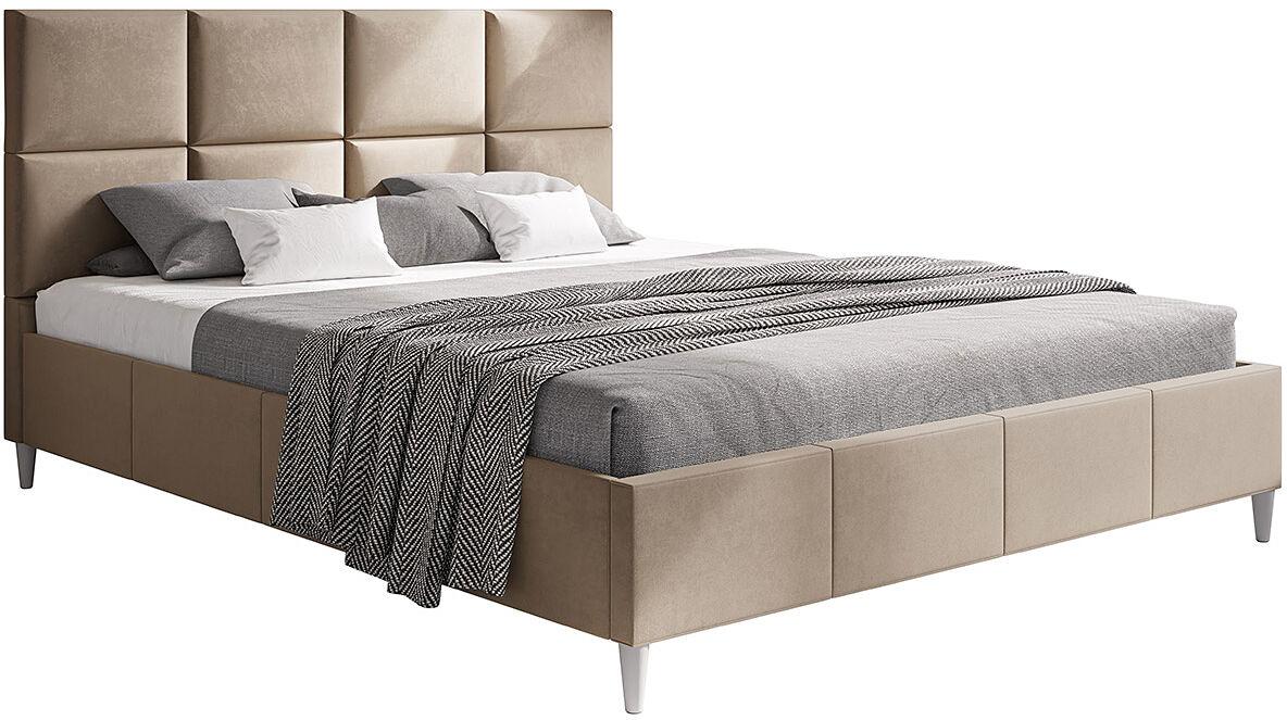 Pojedyncze łóżko tapicerowane 120x200 Bennet - 48 kolorów