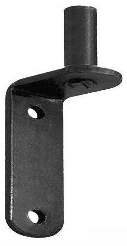 Skobel / zaczep do zawiasu 18 mm przykręcany czarny