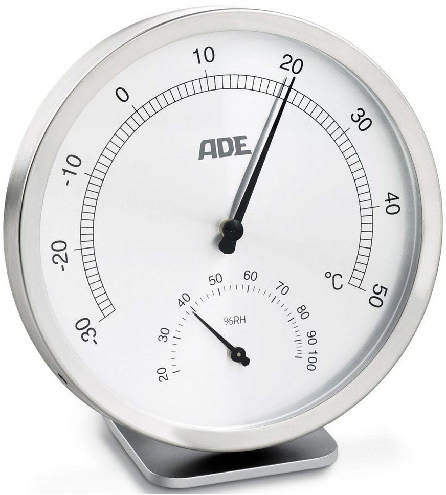 ADE WS1813 Higrometr i termometr analogowy