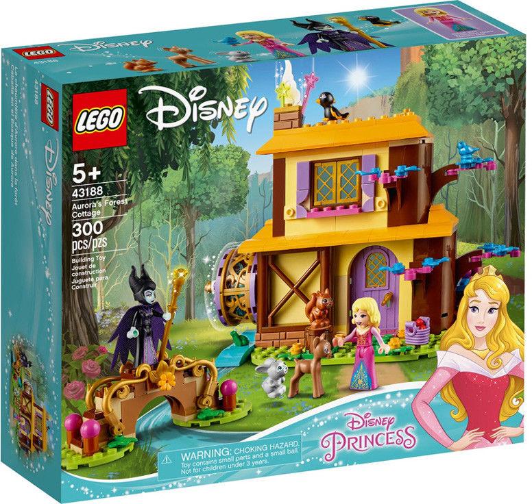 LEGO Disney Princess - Leśna chatka Aurory 43188