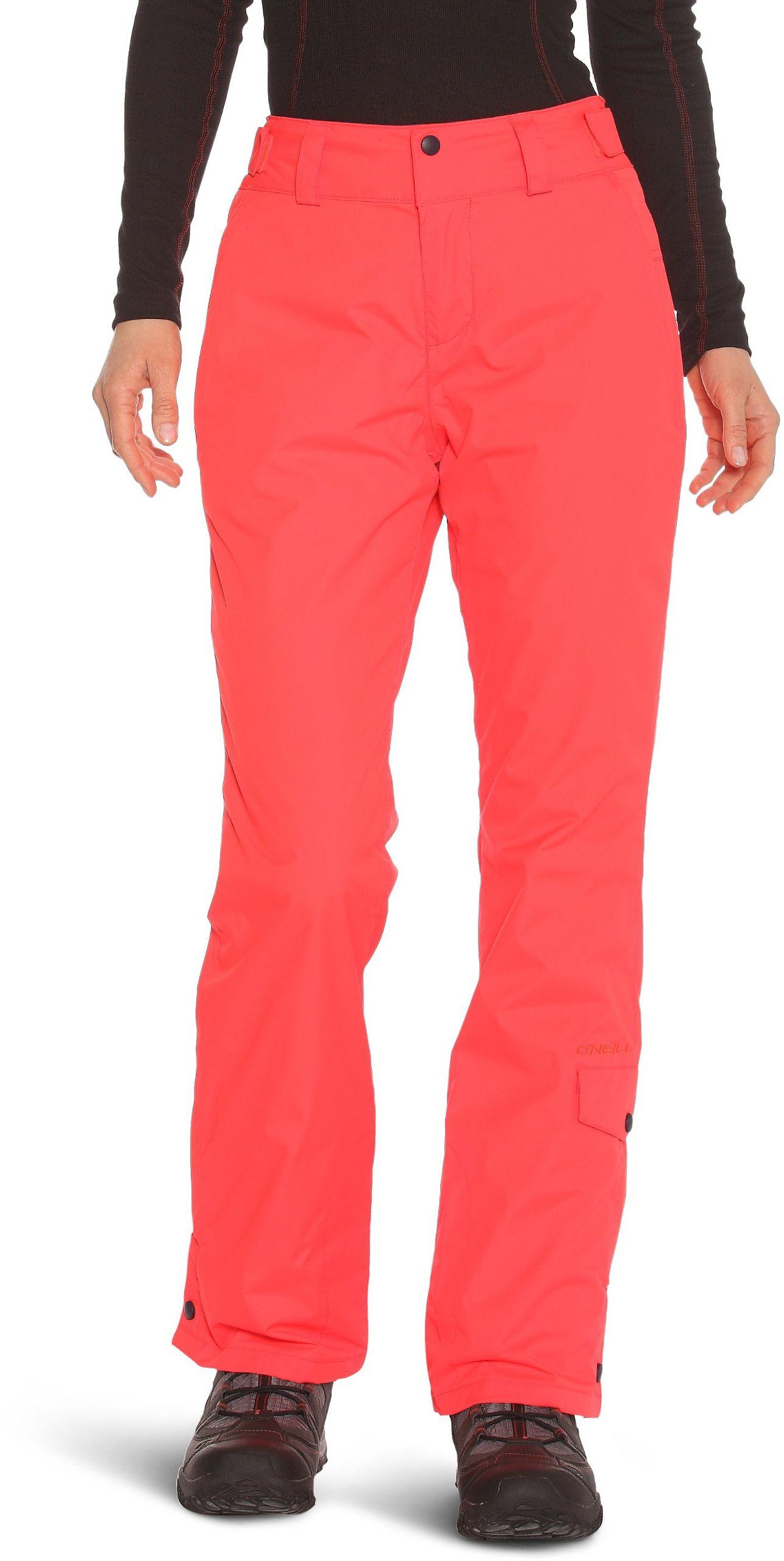 O ''Neill Chino damskie spodnie narciarskie S czerwone - Neon Flame