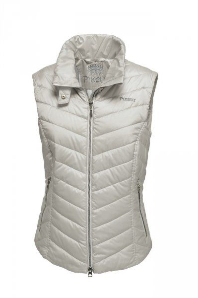 Kamizelka QUESTA - PIKEUR - light grey
