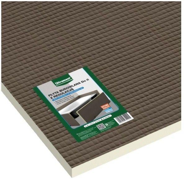 Płyta do zabudowy wanny z regulacją Ultrament 60 x 180 cm 30 mm