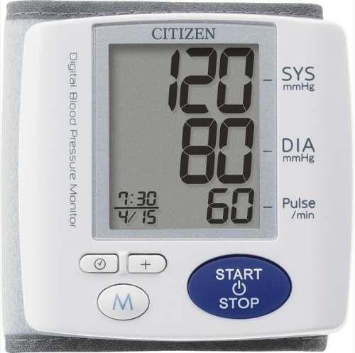 Ciśnieniomierz elektroniczny nadgarstkowy CITIZEN CH-617 - 5 lat gwarancji