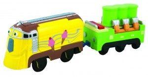 Lokomotywa Frostini z wagonem - Stacyjkowo Motorised LC58008