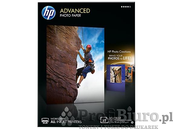Papier HP Q8696A Advanced Glossy Photo - 250 g/m2 - 13x18cm - 25 szt.