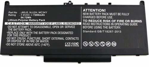 MicroBattery MBXDE-BA0127 część zamienna do notebooka bateria/akumulator - części zamienne do notebooka (bateria/akumulator, DELL, Latitude 12 E7270, Latitude 12 E7470)