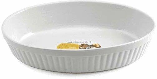 HOME Owalna ceramiczna forma do pieczenia 18 x 13,5 x 4 garnki i przygotowanie