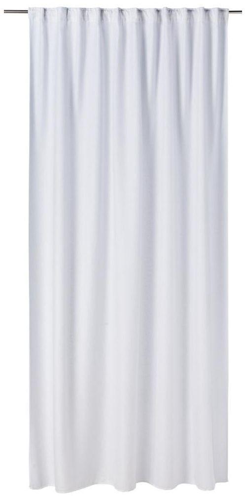Zasłona FOGGIA biała 200 x 280 cm na taśmie INSPIRE