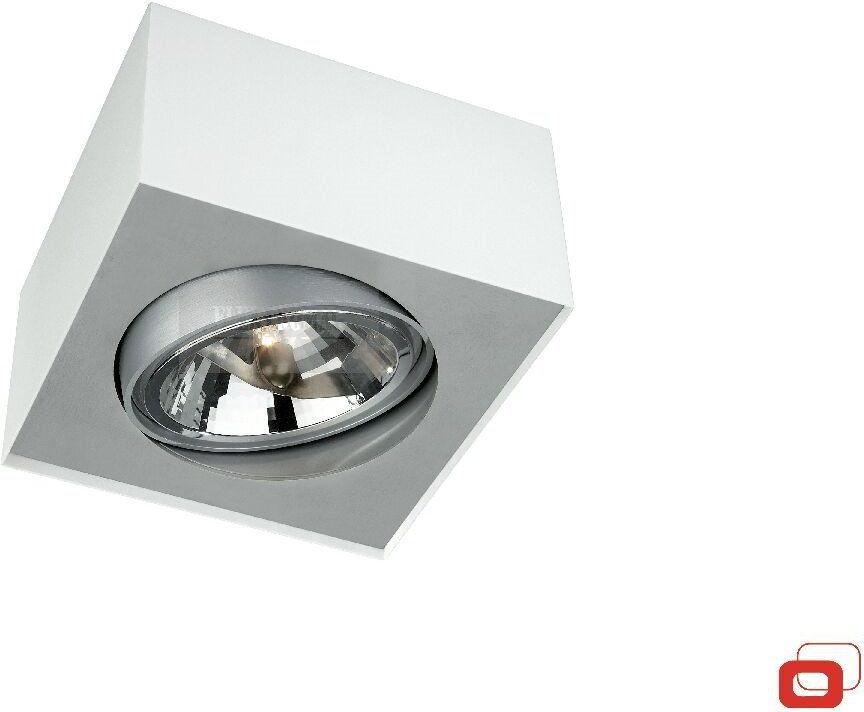 BLOQ LIRIO LAMPA SUFITOWA 57000/31/LI BIAŁA METAL NOWOCZESNA LAMPA