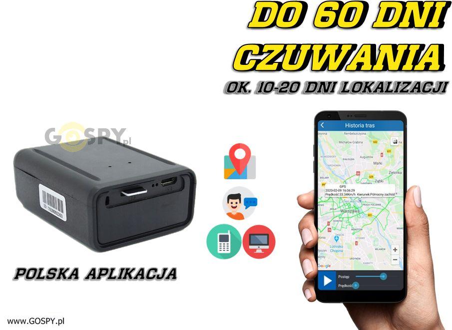 Lokalizator GPS Hermes z Podsłuchem na żywo ( j. Polski)