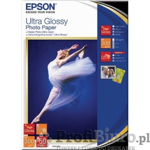Papier Epson Ultra Glossy Photo - 300 g/m2 - 13x18cm - 50 szt.