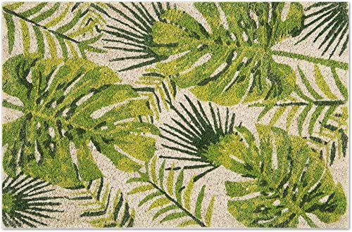 Excelsa Foliage mata podłogowa, włókno kokosowe, zielona, 40 x 60 cm