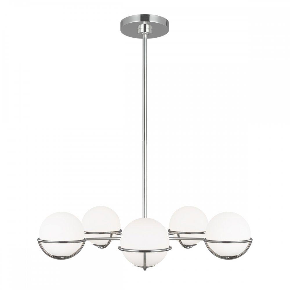 Lampa zwis design APOLLO FE-APOLLO5-PN - Elstead Lighting  SPRAWDŹ RABATY  5-10-15-20 % w koszyku