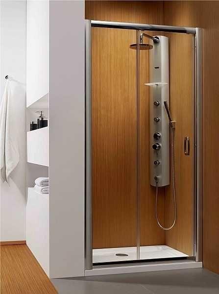 Radaway drzwi wnękowe Premium Plus DWJ 140 szkło Fabric wys. 190 cm. 33323-01-06N