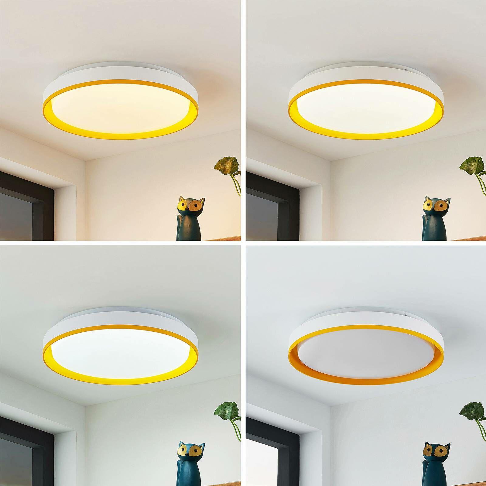 Lindby Divora lampa sufitowa LED CCT Ø 41,5 cm