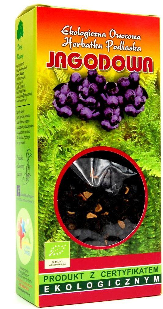 Herbatka jagodowa bio 100 g - dary natury