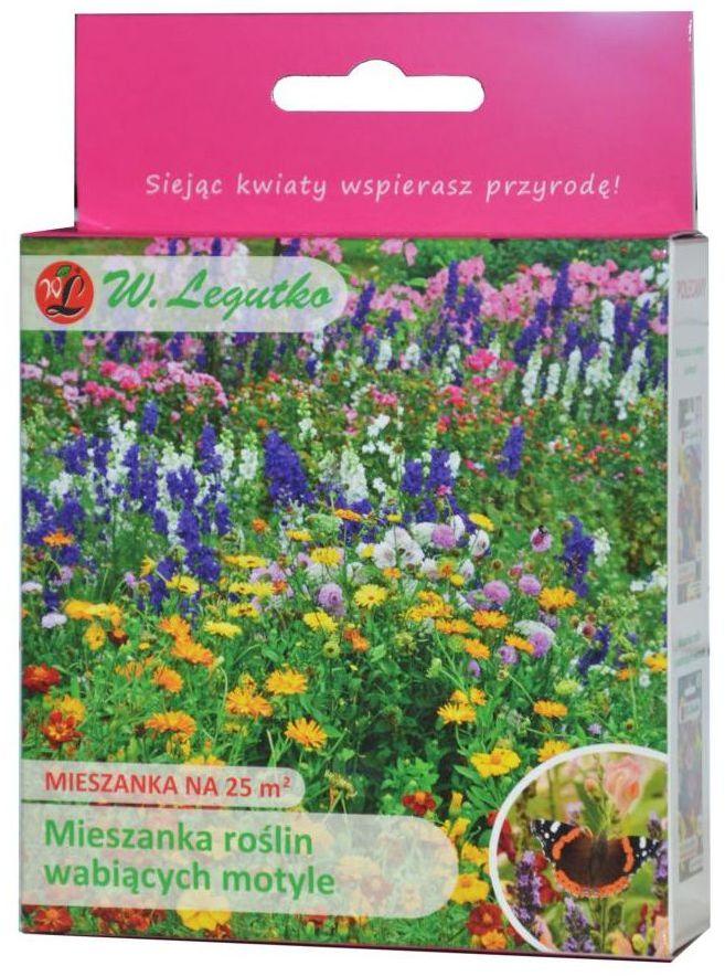 Nasiona kwiatów wabiących motyle 125 g / 25 m2 W.LEGUTKO