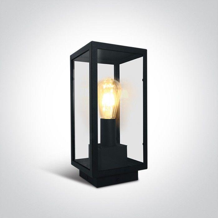 Lampa stojąca ogrodowa Gabbia czarna 1 punktowa IP43 67406E/B - OneLight Do -17% rabatu w koszyku i darmowa dostawa od 299zł !