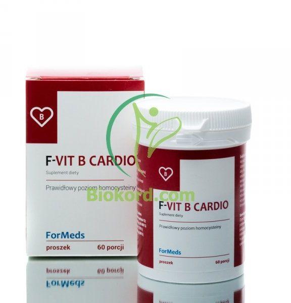 F-VIT B Cardio Formeds, Suplement Diety w Proszku