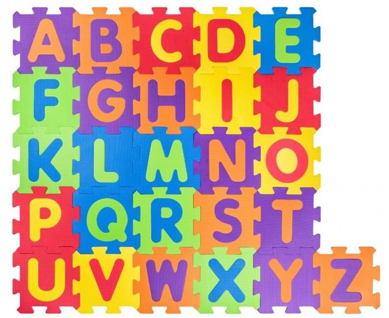Mata podłogowa Puzzle podłogowe alfabet