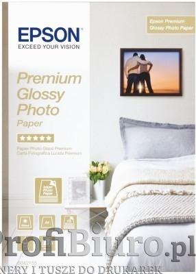 Papier Epson Premium Glossy Photo - 255 g/m2 - A4 - 15 szt.