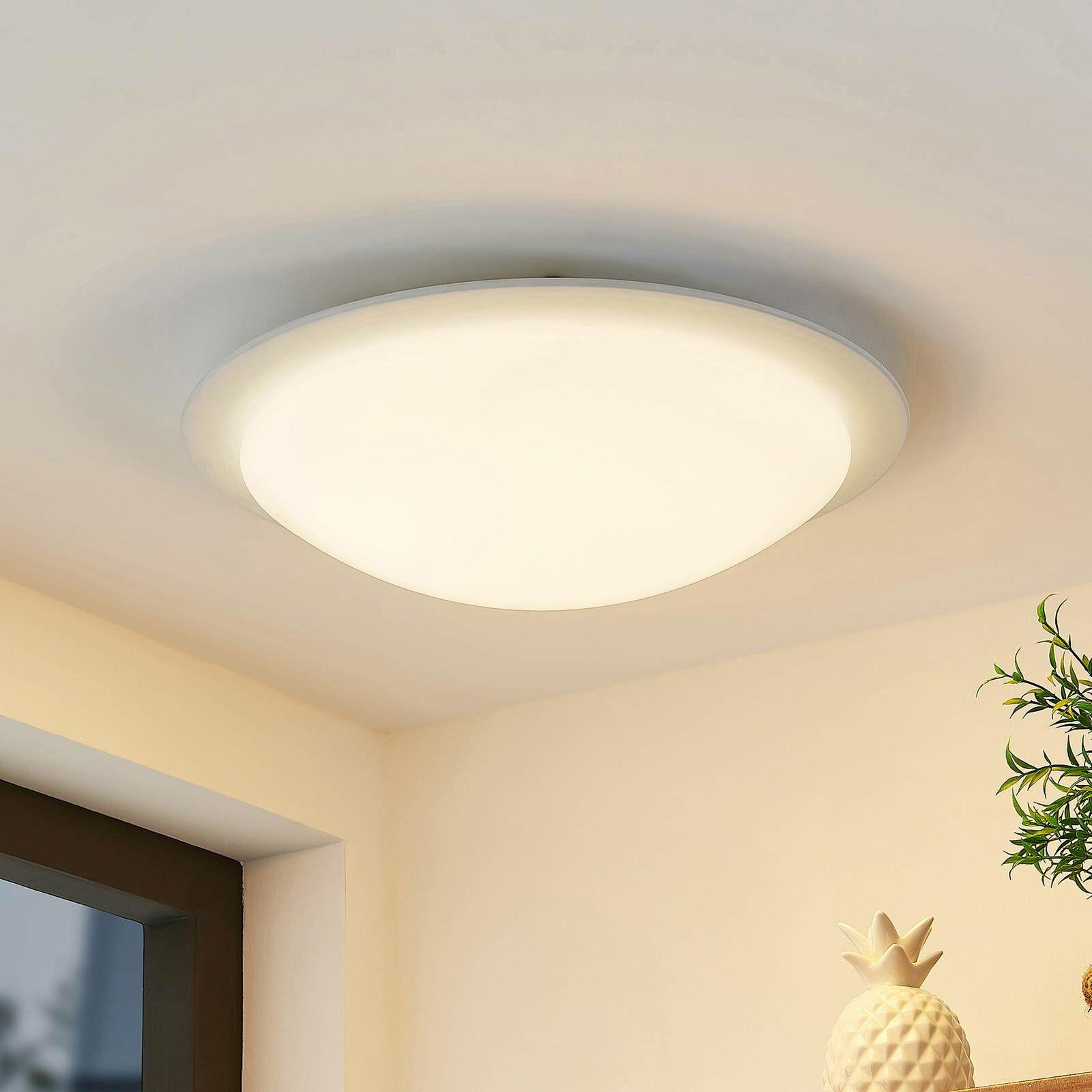 Lindby Aurela lampa sufitowa LED CCT RGB Ø 42,5 cm