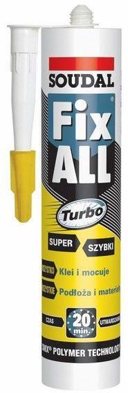 Klej Soudal Fix All Turbo