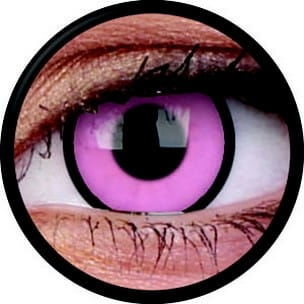 Crazy Lens - Hot Pink, 2 szt.