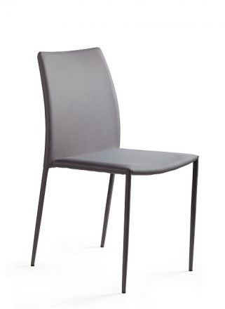 Krzesło DESIGN szare tkanina  Kupuj w Sprawdzonych sklepach