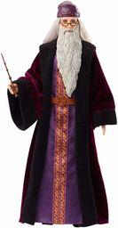 Harry Potter FYM54 , Profesor Dumbledore Lalka Kolekcjonerska (Wysokość: 30 Cm) Z Różdżką I W Szacie Hogwartu Fym54