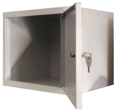 Metalowa szafka na dokumenty i segregatory